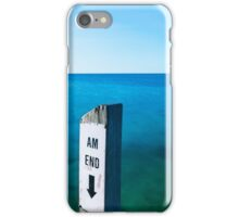 AM END iPhone Case/Skin