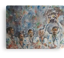 Andy Murray and his team- Davis Cup Winners Canvas Print