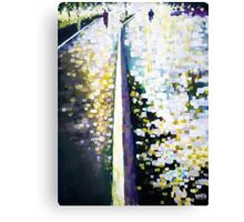Burst of light after the rain Canvas Print