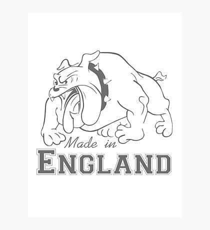 Made in England Photographic Print