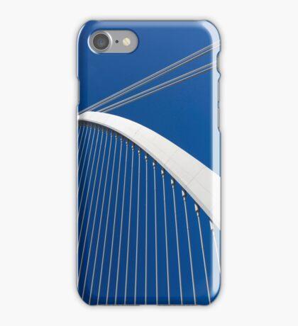 Calatrava's bridge  Valencia iPhone Case/Skin