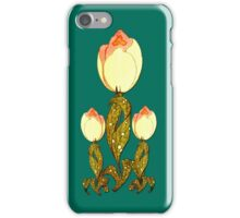 Art Deco Tulip iPhone4 Case iPhone Case/Skin
