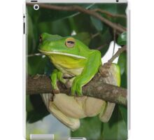 Giant Green tree frog iPad Case/Skin