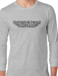 Il Leggendario Tesoro Perduto di Mêlée Island™ Long Sleeve T-Shirt