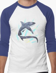 Thresher Shark Men's Baseball ¾ T-Shirt