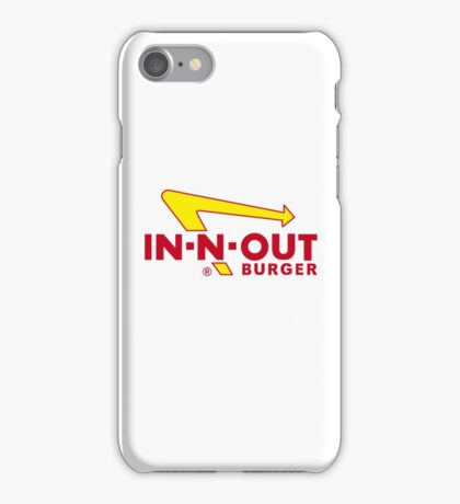 IN-N-OUT BURGER iPhone Case/Skin