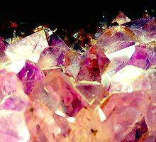 Amethyst Crystals by Janine Barr