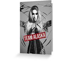TEAM ALASKA Greeting Card