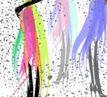 Color Spray Sticker