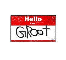 Hello- I am GROOT Photographic Print