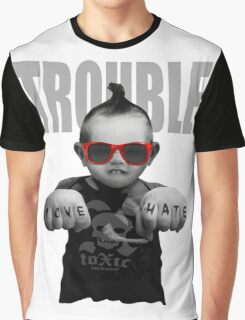 Trouble Baby Graphic T-Shirt