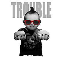 Trouble Baby Photographic Print