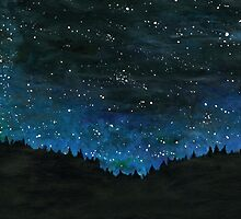 Starry night by oliviasl
