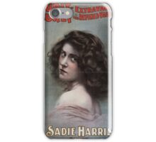 Performing Arts Posters Hurly Burly Extravaganza and Refined Vaudeville 0434 iPhone Case/Skin