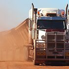 road train at Auski Roadhouse (Pilbara) by gaylene