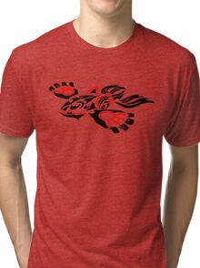 Tribal Kyogre Tri-blend T-Shirt