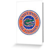 University Of florida  Greeting Card