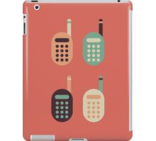 The Classic Cell Phones iPad Case/Skin