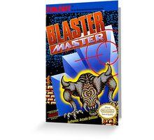 Blaster Master Greeting Card
