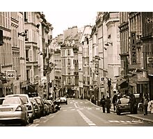 A Street in Paris Photographic Print