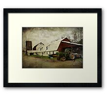 Farm Work ~ a Hard Life Framed Print