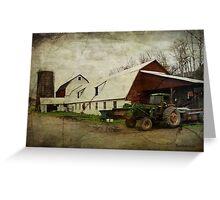 Farm Work ~ a Hard Life Greeting Card