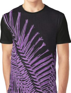 Purple asymetric lines, abstraction, visual, optical illusion Graphic T-Shirt