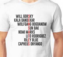 Sensates Names Unisex T-Shirt