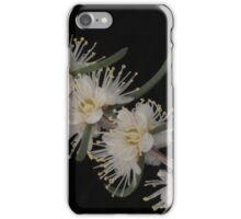 foxes lair white flower iPhone Case/Skin