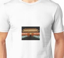 The Forbidden City by night Unisex T-Shirt