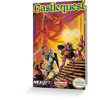 Castlequest Greeting Card