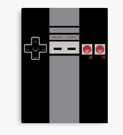 Be the Controller - NES Canvas Print