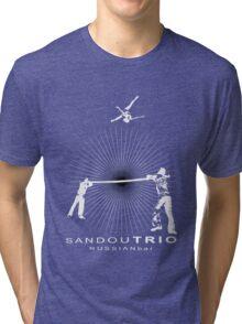 Sandou Trio Russian Bar Tri-blend T-Shirt