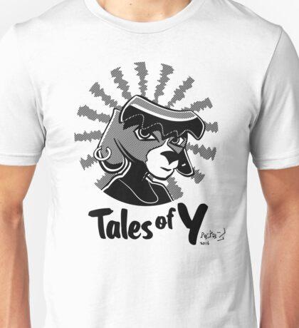Tales of Y, Coco Looking Sideways Unisex T-Shirt