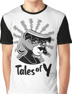 Tales of Y, Coco Looking Sideways Graphic T-Shirt
