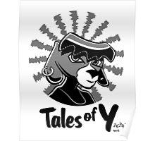 Tales of Y, Coco Looking Sideways Poster
