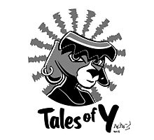 Tales of Y, Coco Looking Sideways Photographic Print