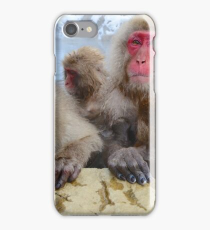 Snow Monkeys of Japan iPhone Case/Skin