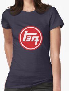 Toyota Emblem, Retro Womens Fitted T-Shirt