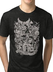 Old Friends - Tan Tri-blend T-Shirt