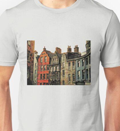 Edinburgh skyline Unisex T-Shirt