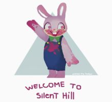 Robbie the Rabbit // Silent Hill by nicolascagedesu