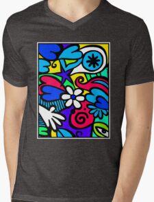 DESIGN-523 Mens V-Neck T-Shirt