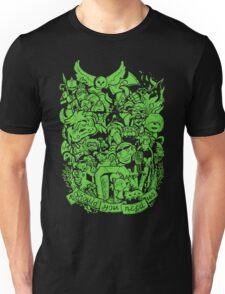 Old Friends - Green Unisex T-Shirt