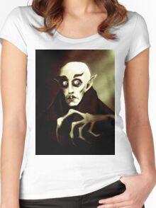 Nosferatu Women's Fitted Scoop T-Shirt