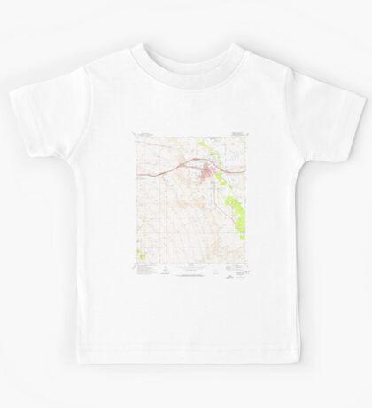 USGS TOPO Map Arizona AZ Benson 310437 1973 24000 Kids Tee
