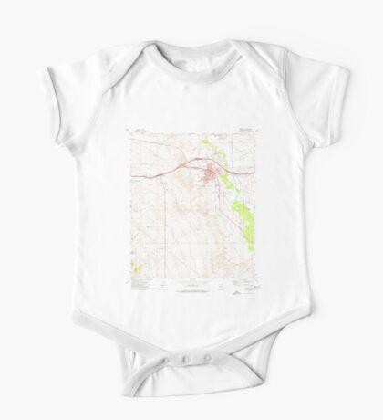 USGS TOPO Map Arizona AZ Benson 310437 1973 24000 One Piece - Short Sleeve