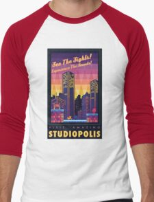 Studiopolis Men's Baseball ¾ T-Shirt