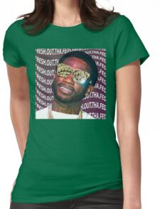 Gucci Mane- Fresh.Out.Tha.Feds Womens Fitted T-Shirt