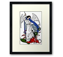 ST MICHAEL THE ARCHANGEL  (2)  Framed Print